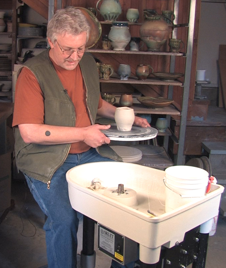 how to build a pottery wheel