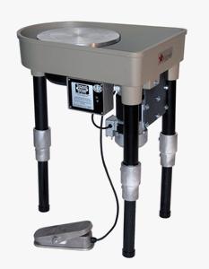 Adjustable Leg Extension Skutt Potters Wheel